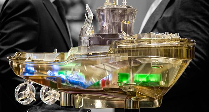 Messefotografie für Rolls-Royce