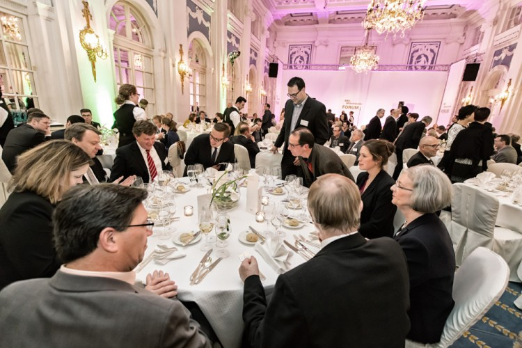 Abendgala des BRZ Mittelstandsforums im Hotel Atlantic Kempinski in Hamburg