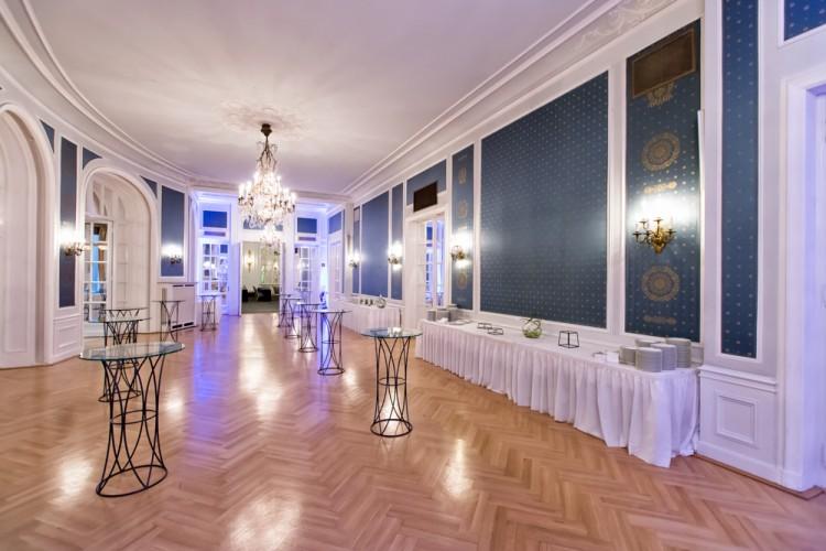 Der Blaue Saal im Hotel Atlantic Kempinski in Hamburg