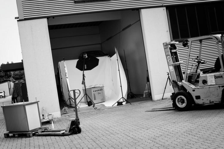 Fotoshooting des Hamburger Produktfotografen Bernhard Classen