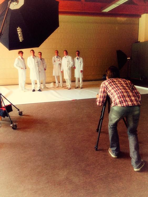 Porträtfotografie für eine Anzeigenkampagne der Schön Klinik in Hamburg Eilbek