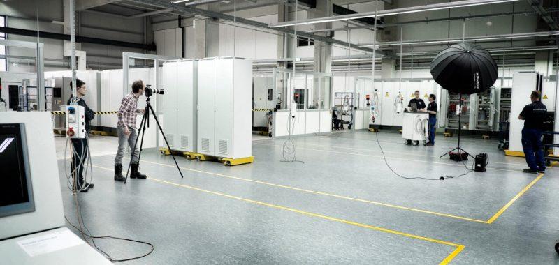 So entsteht ein Industriefoto - Teil 3: Das Fotoshooting