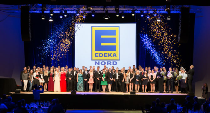 Als Eventfotograf für EDEKA in Lübeck