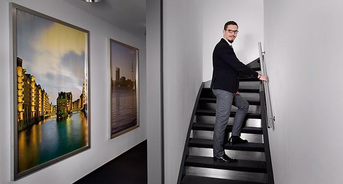 Porträtfotografie in Hamburg für einen Automobilhersteller